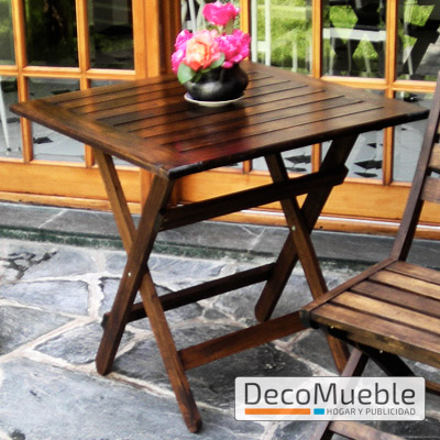 Mesa plegable de metal o madera f brica de mesas plegables for Mesa plegable quincho