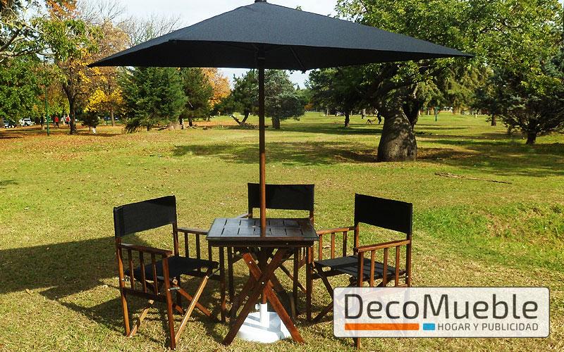 Muebles de jard n sillas sillones mesas plegables sombrillas for Sombrillas de jardin