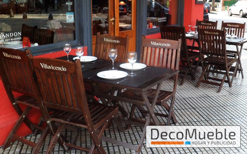 Muebles para bar sillas sillones director mesas plegables sombrillas - Mobiliario de bares ...